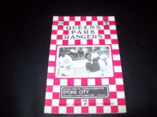 Queens Park Rangers v Stoke City, 1973/74